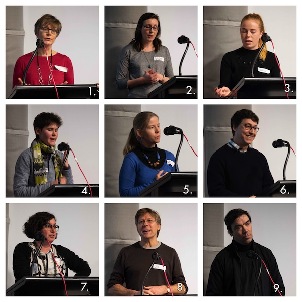 Speakers at the OHV 2018 symposium